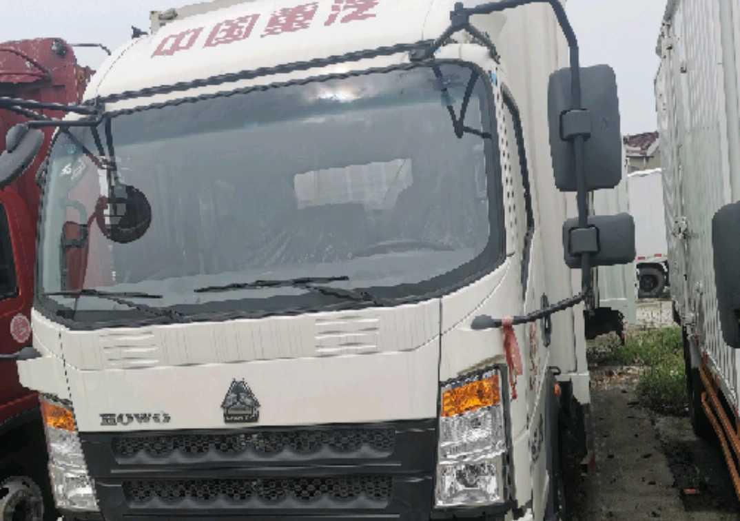 中国重汽悍将 载货车  120匹 2020年09月 4x2