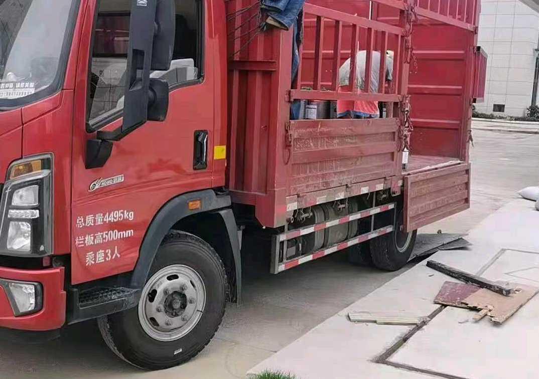 中国重汽HOWO 载货车  160匹 2021年02月 4x2