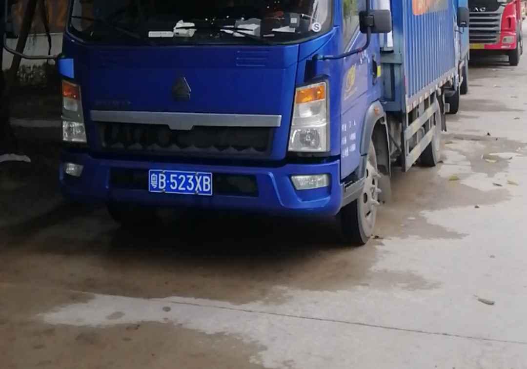 中国重汽HOWO 载货车  110匹 2019年01月 4x2