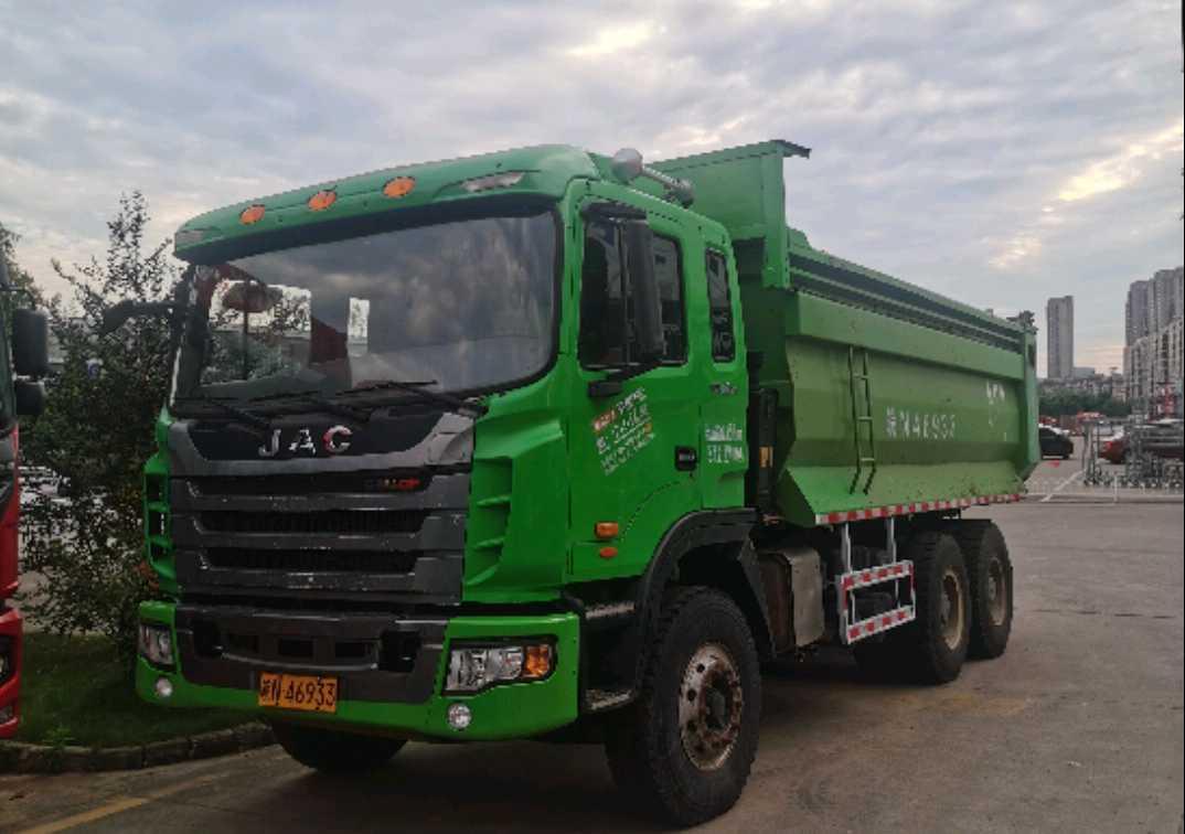 江淮格尔发K3W重卡 重载型 自卸车  375匹 2018年11月 6x4