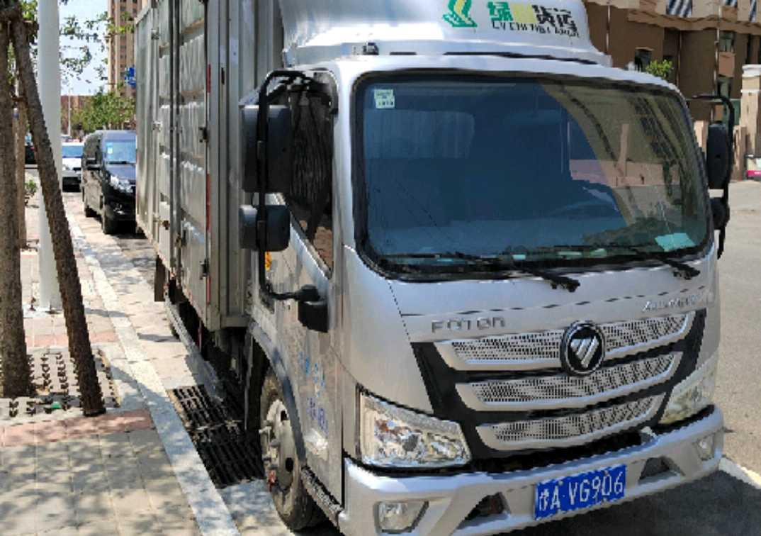 福田欧马可欧马可S3 载货车  120匹 2019年11月 4x2