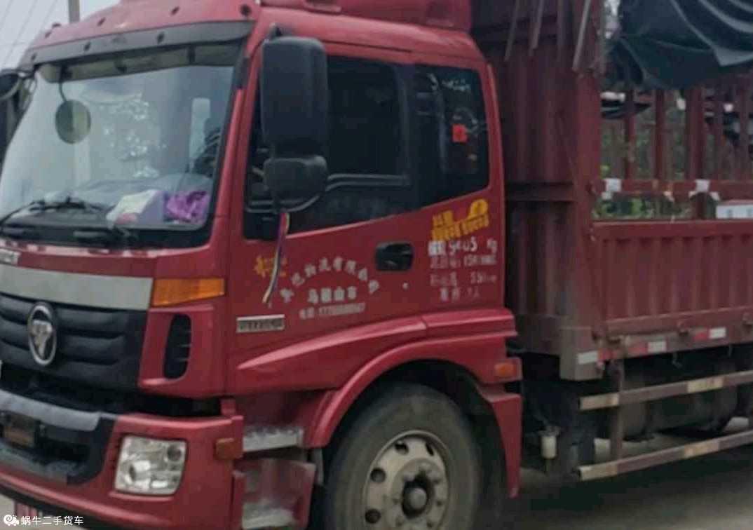 福田欧曼ETX 载货车  170匹 2021年10月 4x2