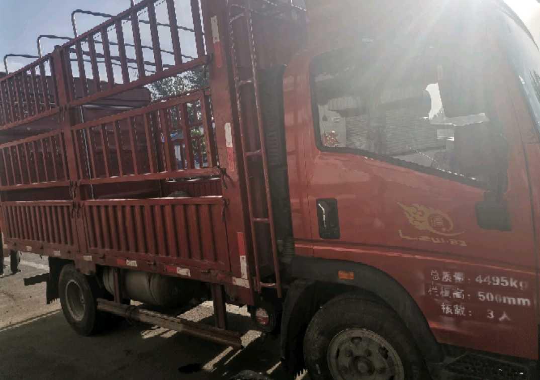 中国重汽悍将 载货车  176匹 2020年09月 4x2