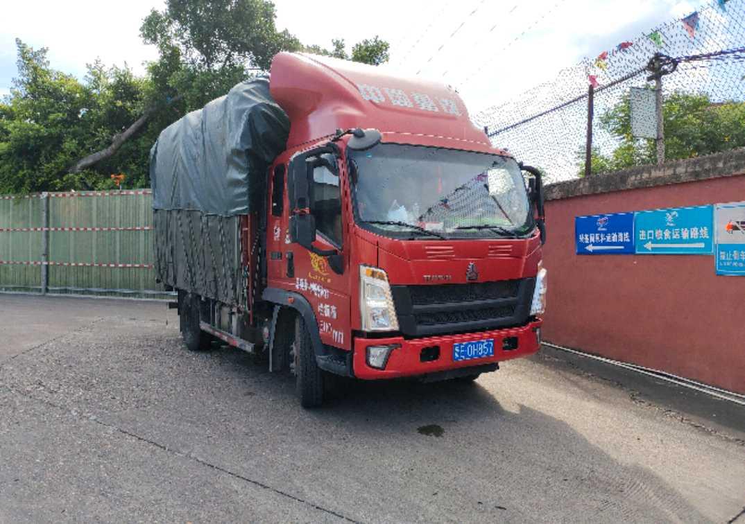 中国重汽HOWO 载货车  160匹 2020年09月 4x2