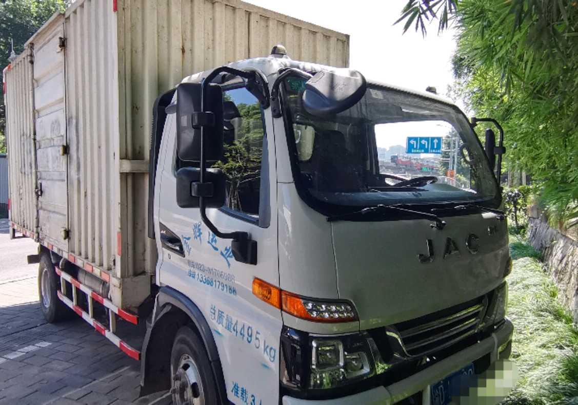 江淮骏铃骏铃V6 载货车  150匹 2017年05月 4x2