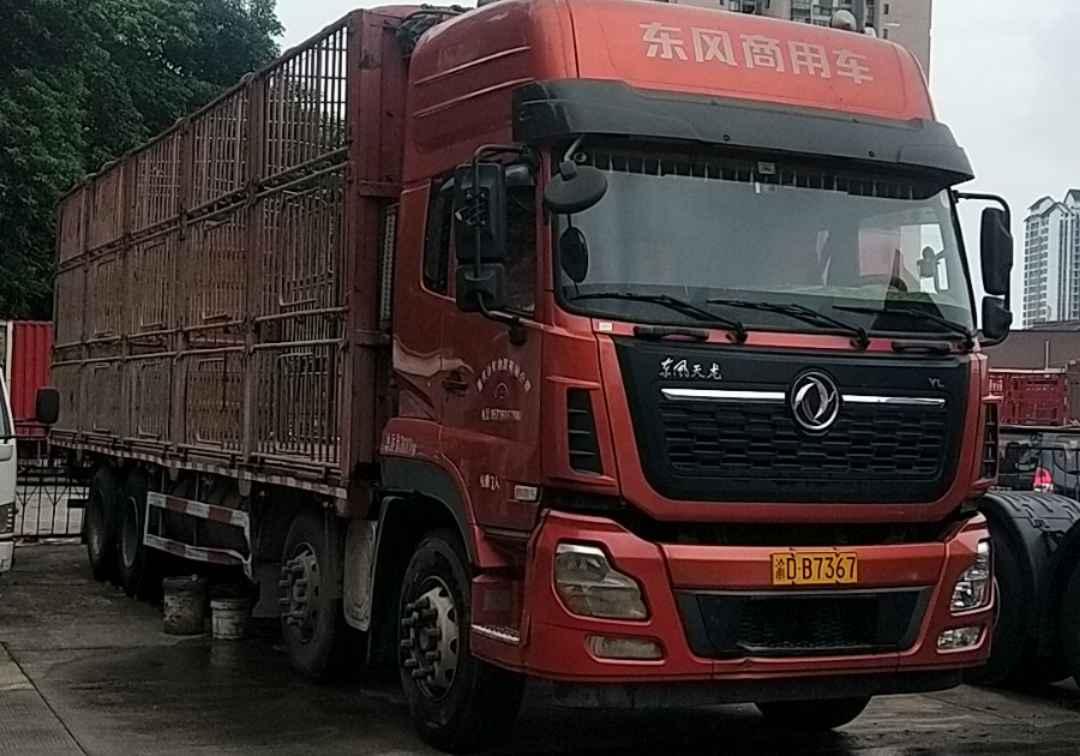 东风天龙 载货车  450匹 2019年08月 8x4