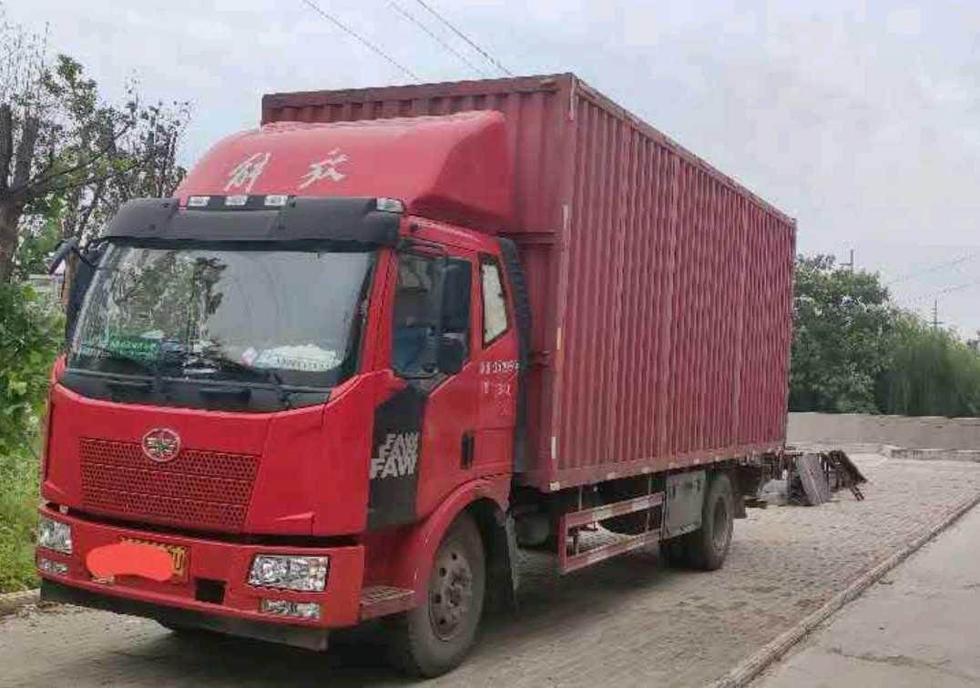 一汽解放J6L中卡 质惠版 载货车  160匹 2018年02月 4x2