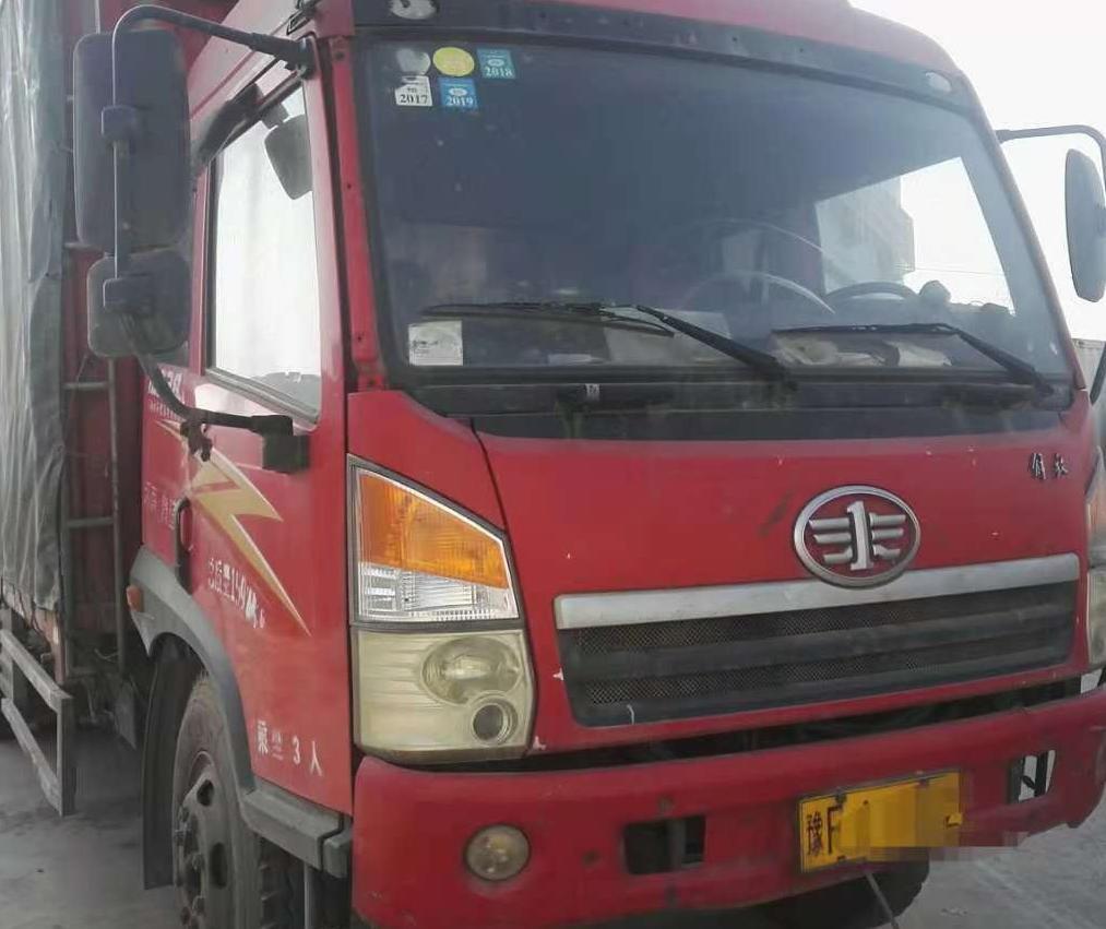 青岛解放其他车系 载货车  142匹 2011年07月 4x2
