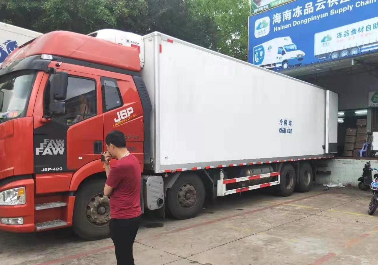 一汽解放J6 冷藏車  420匹 2019年03月 8x4