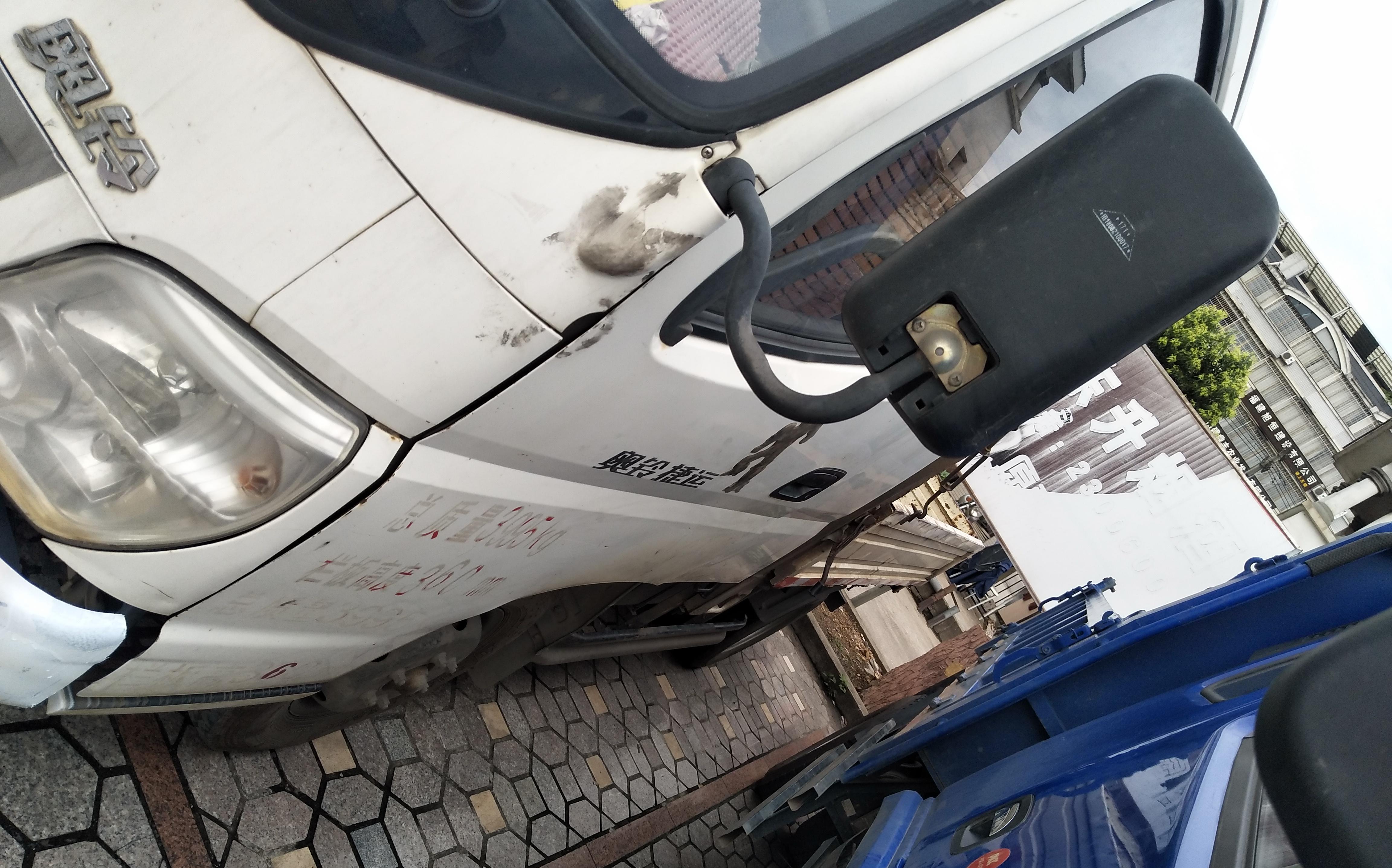 北汽福田 载货车  72匹 2012年05月 4x2
