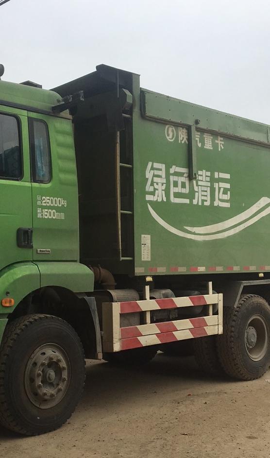 陕汽德龙新M3000 自卸车  350匹 2019年04月 8x2