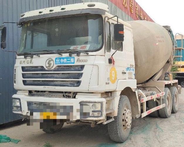 陕汽德龙F3000 混凝土搅拌车  340匹 2011年10月 4x2