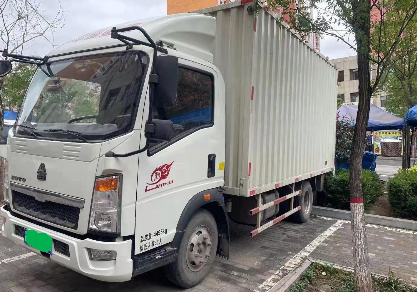 中国重汽统帅 载货车  110匹 2017年09月 4x2