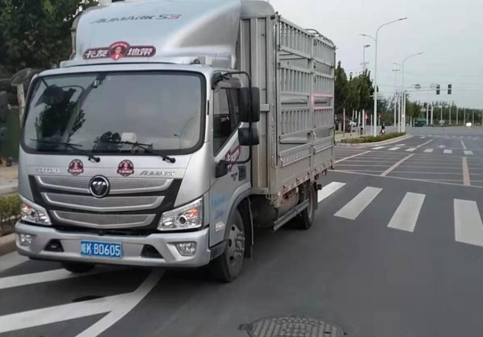 北汽福田其他车系 载货车  156匹 2020年07月 4x2