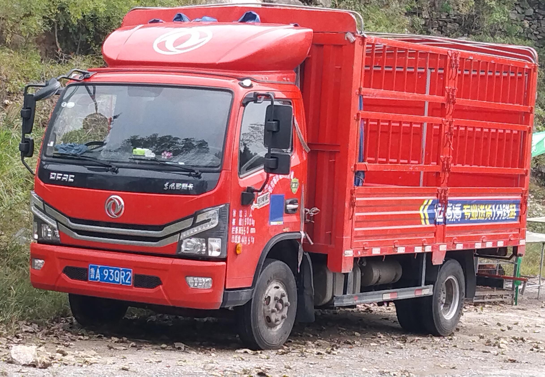 东风多利卡多利卡D6 载货车  140匹 2021年07月 4x2