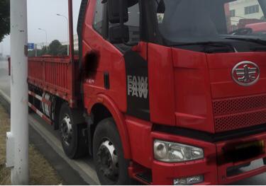 一汽解放J6 载货车  240匹 2014年11月 6x2