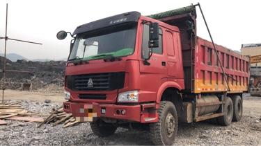 重汽豪沃(HOWO)HOWO T6G重卡 自卸車  375匹 2013年06月 6x4