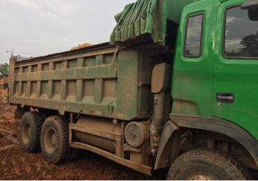 江淮格爾發K3W重卡 自卸車  336匹 2013年04月 6x4