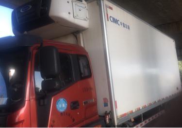 福田歐曼ETX 冷藏車  170匹 2016年08月 4x2