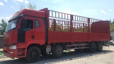一汽解放J6M重卡 標載型 載貨車  310匹 2015年02月 8x4