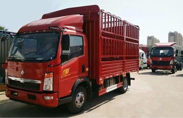 中國重汽HOWO 載貨車  170匹 2019年01月 4x2