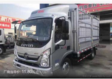 福田歐曼其他車系 載貨車  156匹 2019年10月 4x2