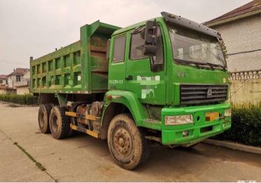 中國重汽金王子 自卸車  310匹 2013年03月 8x2