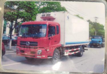 东风 冷藏车  140匹 2013年04月 4x2