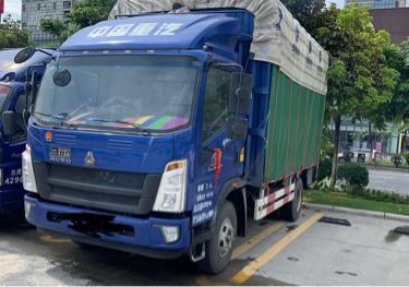 中国重汽HOWO 载货车  170匹 2020年06月 4x2