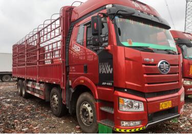 一汽解放J6P重卡 质惠版 载货车  460匹 2019年11月 8x4