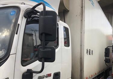 福田欧曼ETX 冷藏车  138匹 2019年05月 6x2