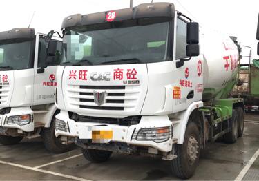 联合卡车其他车系 混凝土搅拌车  375匹 2017年04月 6x4