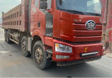 一汽解放J6P重卡 自卸车  500匹 2019年05月 8x4