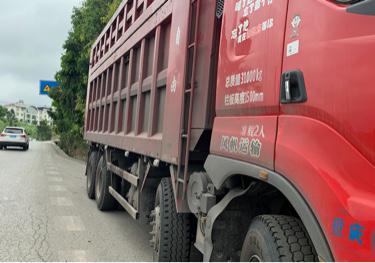 东风柳汽乘龙H7 自卸车  350匹 2018年05月 6x2