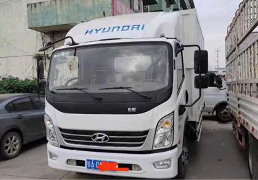 四川现代其他车系 载货车  160匹 2020年10月 4x2