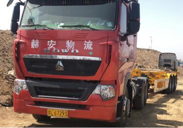重汽豪沃(HOWO)HOWO T7H重卡 牵引车  440匹 2020年08月 6x4