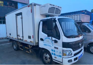 福田欧曼其他车系 冷藏车  120匹 2017年01月 4x2