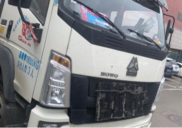 中国重汽HOWO 冷藏车  210匹 2020年11月 4x2