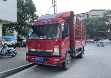 中国重汽HOWO T5G重卡 载货车  175匹 2018年09月 4x2