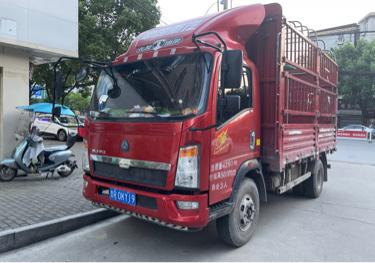中国重汽HOWO 载货车  170匹 2018年09月 4x2