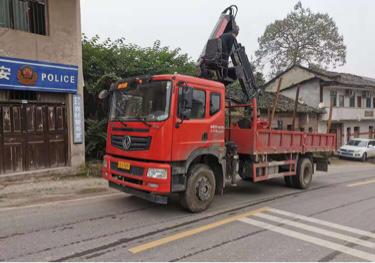 东风华神华神T5 自卸车  180匹 2020年05月 4x2