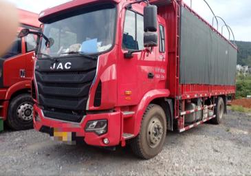 江淮格尔发K5L中卡 重载型 载货车  180匹 2018年05月 4x2