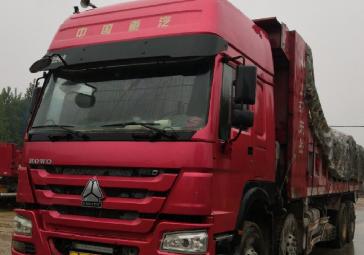 中國重汽HOWO 自卸車  336匹 2015年06月 8x4