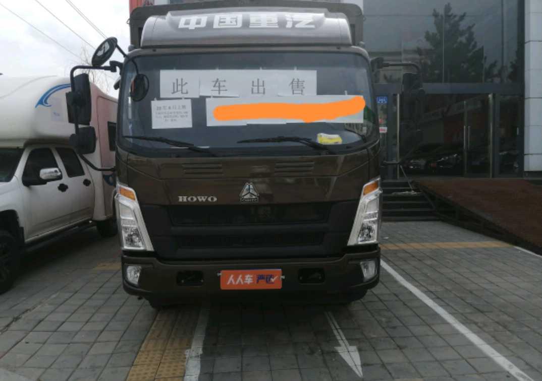 中国重汽HOWO 载货车  160匹2020年08月 4×2 国五