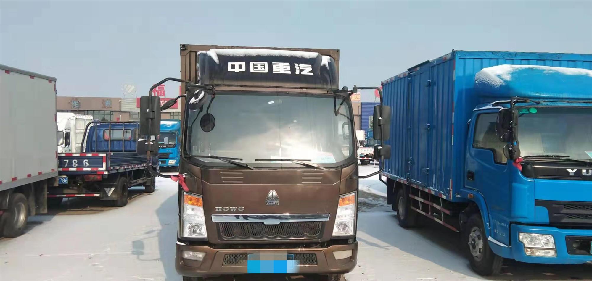 中國重汽HOWO 載貨車  108匹2016年07月 4×2 國五