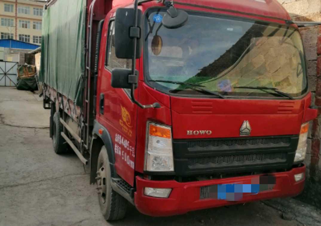 中国重汽统帅 载货车  154匹 2016年08月 4x2