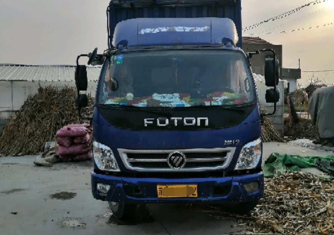 #其他品牌 载货车  156匹2016年08月 4×2 国四