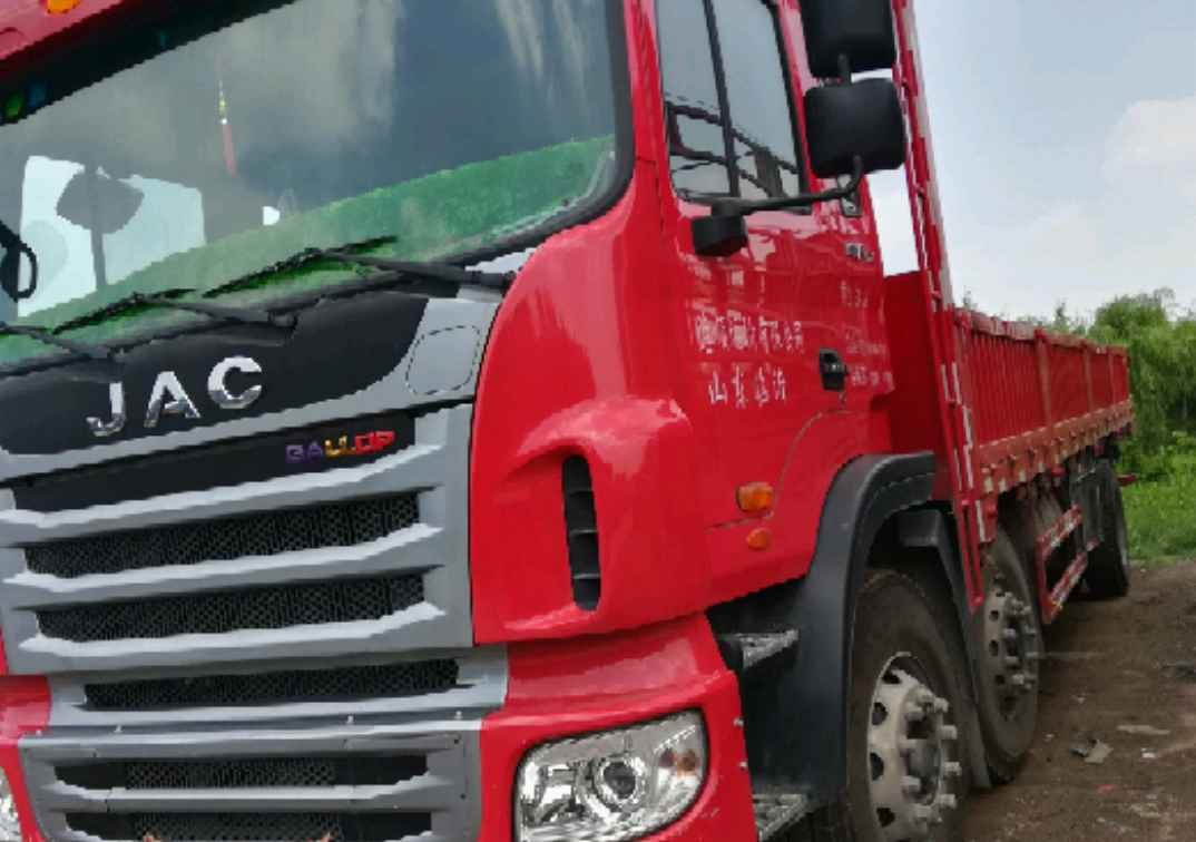 江淮格尔发A5L中卡 载货车  180匹 2016年05月 6x2