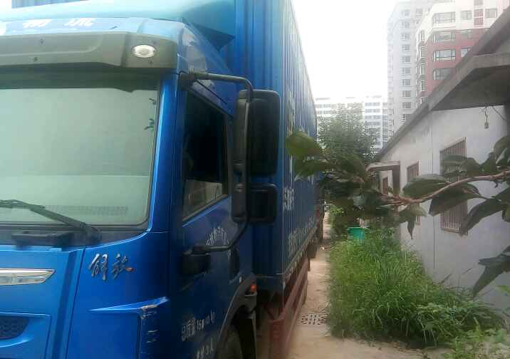 青岛解放龙V 载货车  160匹 2016年05月 4x2