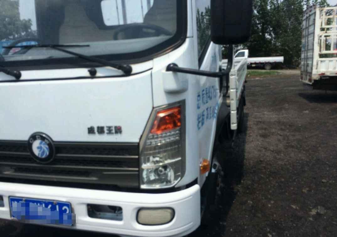 中国重汽王牌 载货车  120匹 2014年07月 4x2